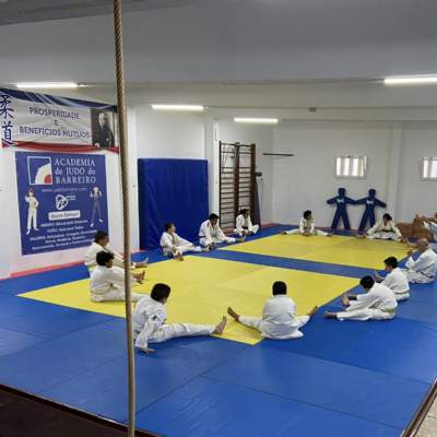 Primeiro dia de treino no novo Dojo